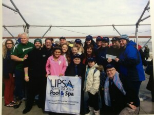 Members of the LIPSA Polar Plunge team.