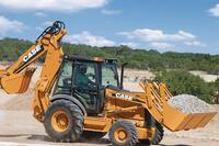 Case Construction Equipment  580N, 580 Super N, 580 Super N Wide Track, and 590 Super N loader/backhoes.