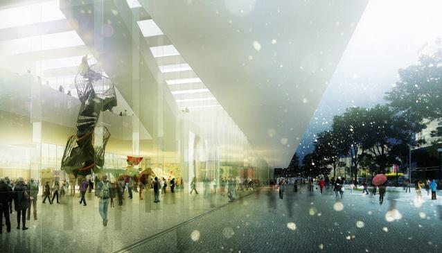 Museum of Modern Art, Warsaw, and National Theater, by Thomas Phifer and Partners.
