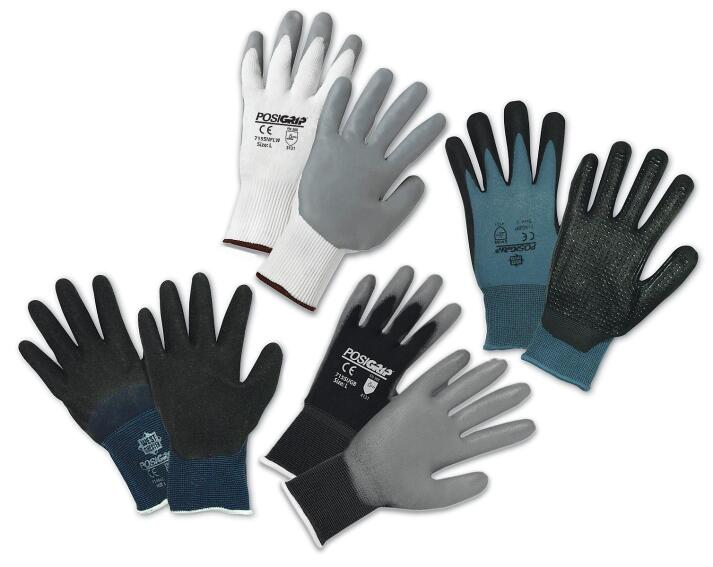 West Chester PosiGrip Dipped Gloves