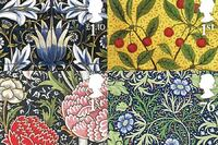 Object: William Morris Stamps