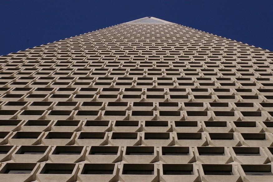 Pereira's Transamerica Pyramid, San Francisco
