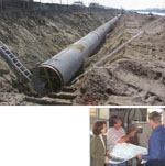 Replenishing ground water