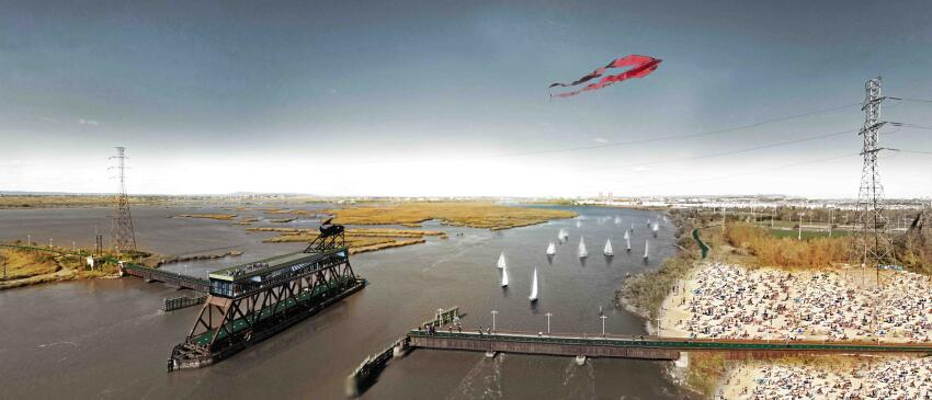 "MIT CAU/ZUS/De Urbanisten's ""New Meadowlands: Productive City + Regional Park"""