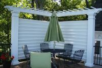 Privacy from Arbors Direct Structural Fiberglass Privacy Screens
