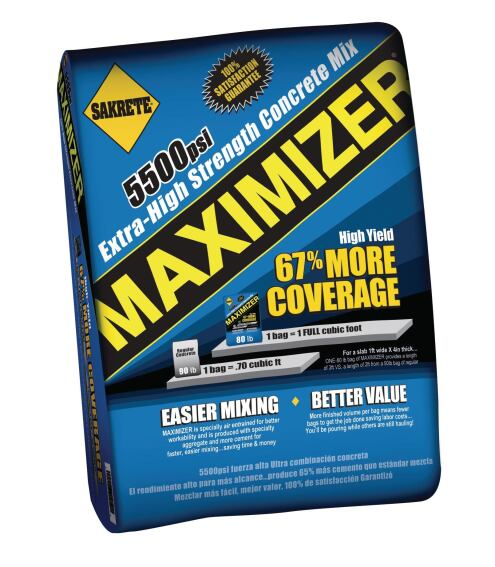 Sakrete Maximizer Concrete