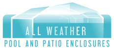 All Weather Pool & Patio Enclosures, Inc. Logo