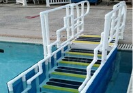 AquaTrek2 ADA Forward Walking Ladder
