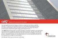 Holcim (US) Inc. CalQ Material Assessment Calculator