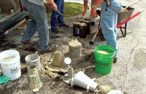 Testing slump, compressive strength, and air entertainment on the jobsite is a time honored way to tell how concrete will perform and whether it meets the scecifications for a job. Slump readings, however, tell very little about whether the amount of water added to the concrete is what it should be.