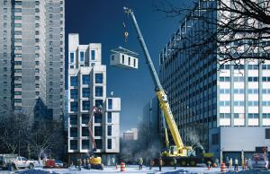 The micro-units that will be part of the My Micro NY pilot project will be between 250 and 370 square feet.