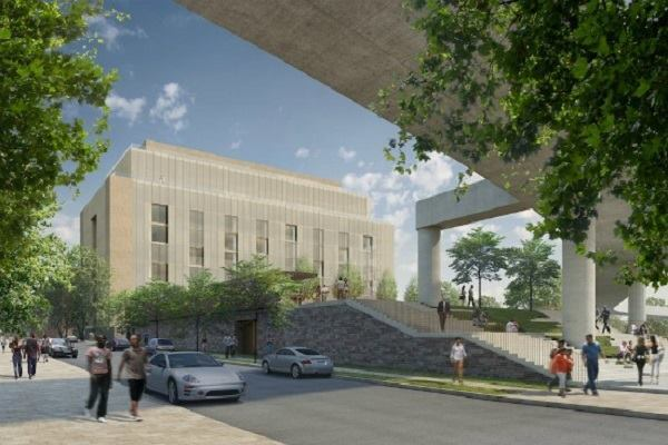 Renderings for the West Heating Plant, after it is turned into condos.