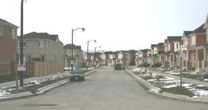 The Evergreen community in Ontario is made up of 252 LEED-Certified homes.