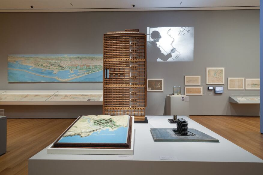 """Le Corbusier: An Atlas of Modern Landscapes,"" at the Museum of Modern Art in New York includes an encylopedia collection of paintings, models, and even videos clips from this retrospective exhibition of the famed Franco-Swiss architect."