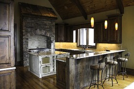 Blowing Rock, NC custom kitchen