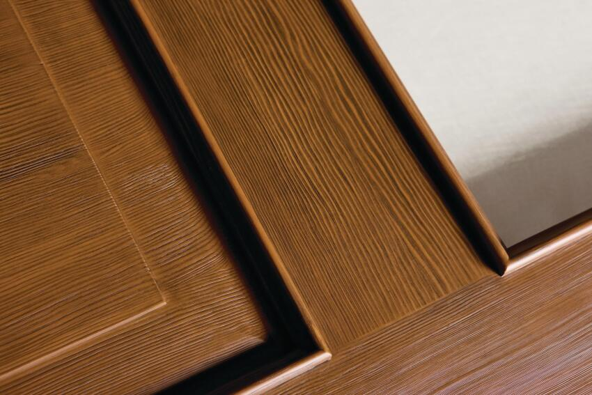 Jeld-Wen Aurora Custom Fiberglass Doors in Douglas Fir