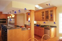 Kitchen lighting design ideas