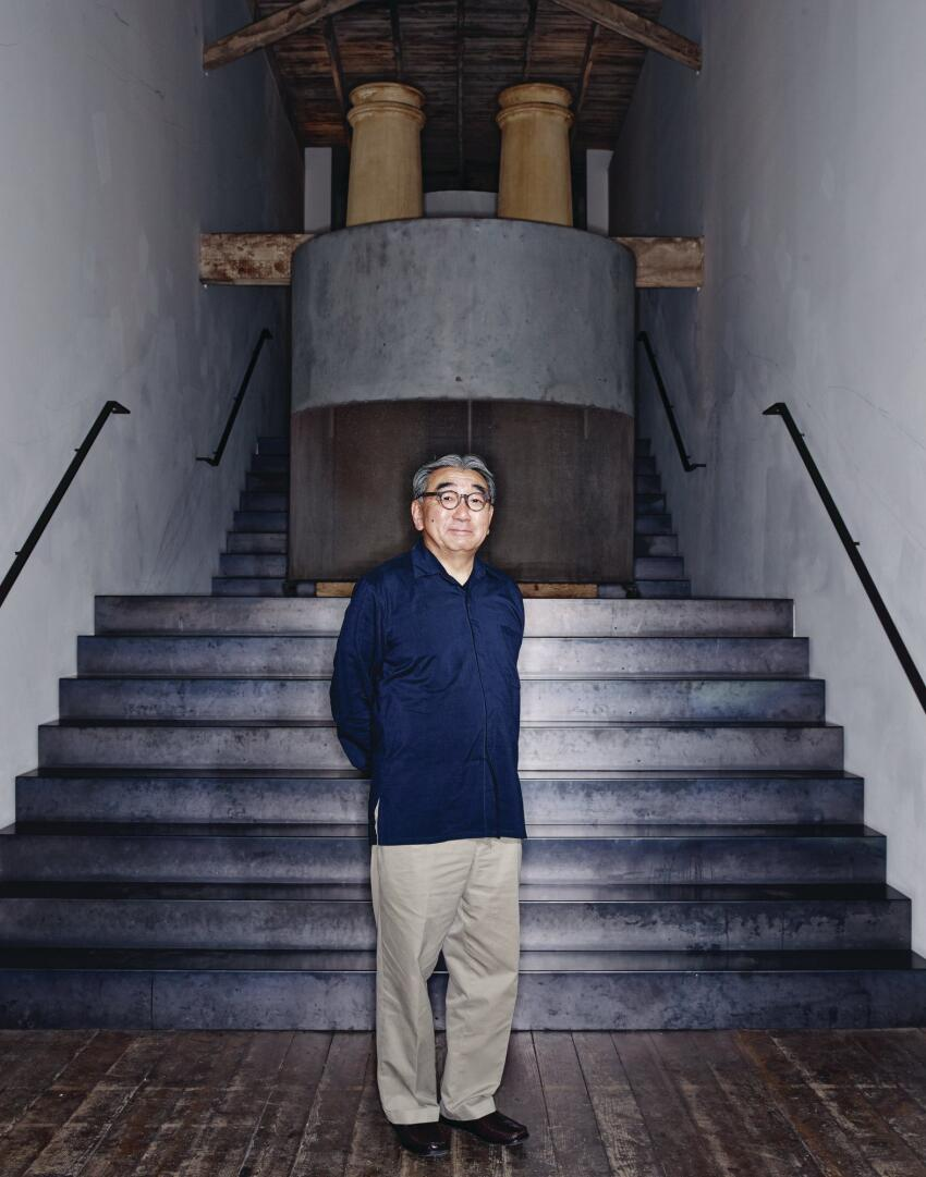George Suyama, in the Belltown studio of Suyama Peterson Deguchi.