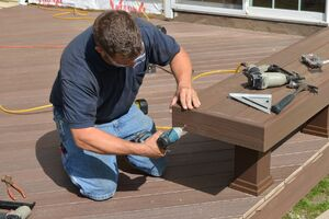 Bench Seating for a Deck