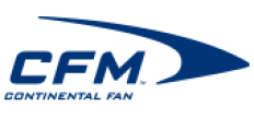 Continental Fan Mfg. Logo