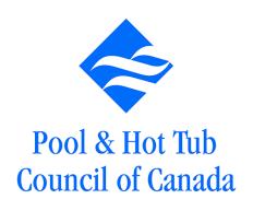 Pool & Hot Tub Council of Canada Logo