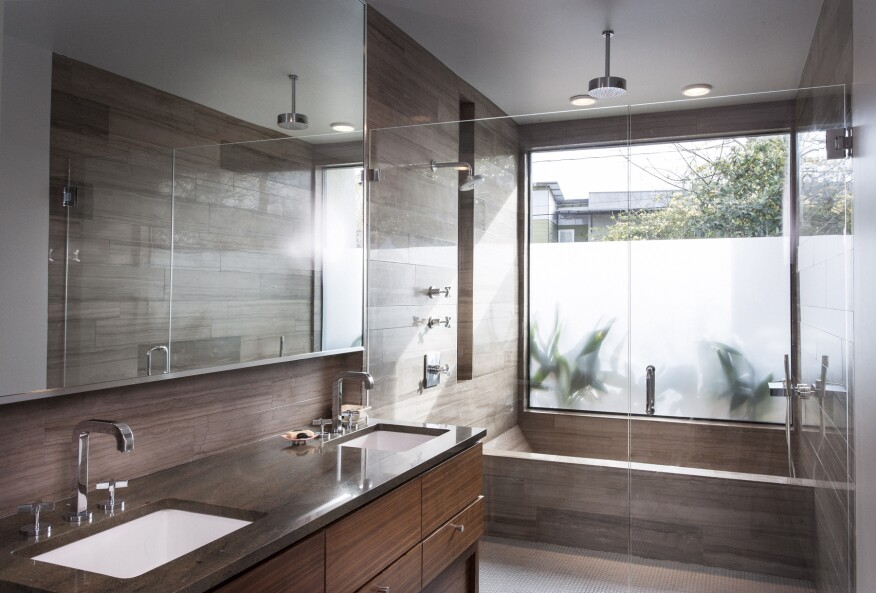 Design trends what buyers love in kitchens and baths for Bathroom finishes trends