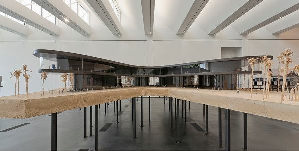 Zumthor created a six-ton concrete model to demonstrate his design.