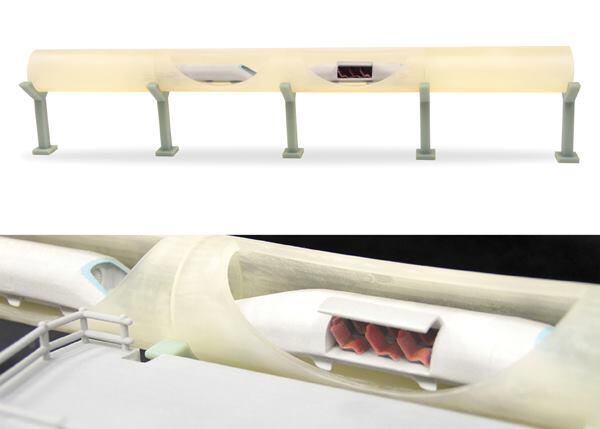 About half of the WhiteClouds team participated in theproject of conceptualizing, modeling, and printing a 3-foot-long replica of Elon Musk's proposed Hyperloop in under 24 hours.