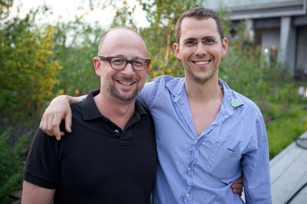 Joshua David, left, and Robert Hammond.