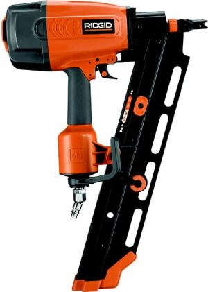 "Power PlayTHE MANUFACTURER CONTINUES ITS ENTRÉE INTO THE PNEUMATIC-TOOL CATEGORY with a new line of seven pneumatic fasteners that includes finish, framing, and roofing products. All tools feature lightweight magnesium housings; tool-free, depth-of-drive adjustment for accurate depth control; a self-cleaning air filter; and ""swivel quick-connect"" to lessen hose tangles; and many other features. Shown is the 3 ½-inch, round-head framing nailer. Cost: $300 to $325. Ridgid. 800-474-3443. www.ridgid.com. Circle no. 101."