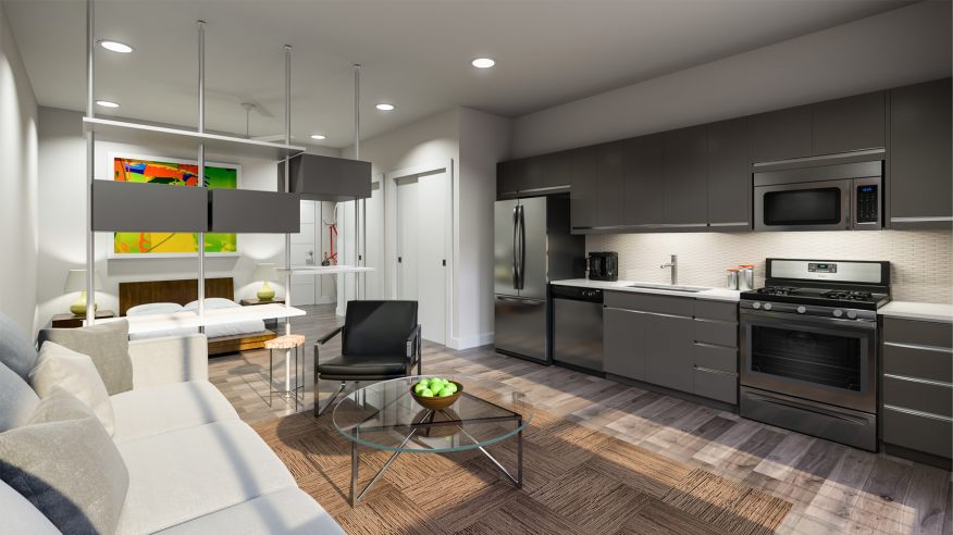 A look inside the Fourth & microloft concept, which will start from $250,000.
