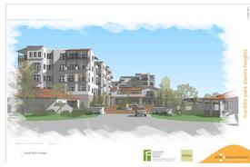 Franklin Park, a senior living community designed by three: living architecture