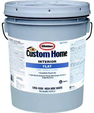 HOME PLATE: Custom Home's high-build interior latex paint is a low-odor and low-VOC paint  that offers cost-saving benefits for builders, the company says. Because  it is formulated to be applied with an airless sprayer, the product allows  builders to increase productivity by up to 20 percent to 30 percent, the maker  adds. It is available in two finishes: interior flat and satin. ICI Paints. 800-984-5444. www.icipaintsstores.com.CAPTIONCAPTION