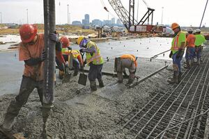 Concrete is Key in Port Construction