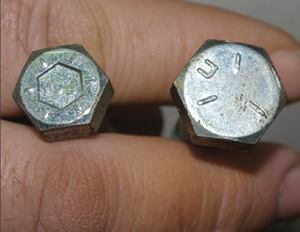 To avoid counterfeits, check bolts for grade and manufacturer. Photo: Firestone  of Lisle (Ill.)