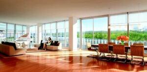 CELEBRITY MAKEOVER: Contemporary interiors will complement the Watergate's original mid-mod façade by Italian architect Luigi Moretti.
