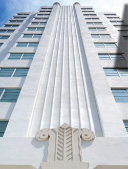 The Lord Tarleton Hotel's Art Deco roots are evident in its reincarnation as the Crown, featuring 170 luxury apartments.
