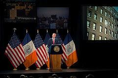 Bill de Blasio delivers his State of the City speech on Feb. 3, 2015. Photo: Demetrius Freeman/Mayoral Photography Office