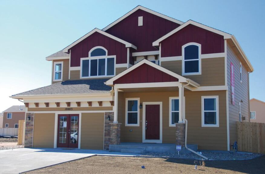 QUICK TURNAROUND. Colorado Springs' Saint Aubyn Homes is building houses in under 50 days.