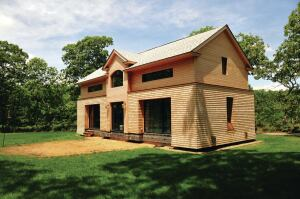 A builder on Martha's Vineyard used this cottage for himself and his family to learn the process of building a certified passive house.