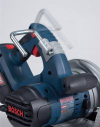 The rafter hook on the Bosch saws is a nice feature for professional use.