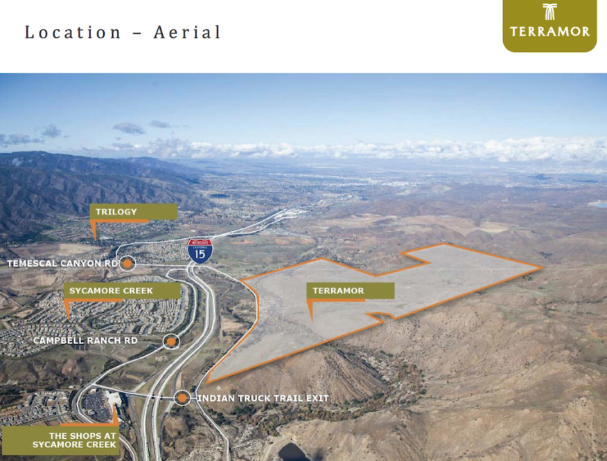 Foremost Communities' Terramor, a new master planned community in Riverside County, Calif.