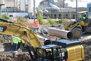 Pipe Used to Rehabilitate Niagara Falls Sewer