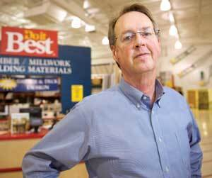 BRUISED BUT UNBOWED: Ron Dorn of Portage (Wis.) Lumber has spent decades competing with Menards. He says the key to surviving the Menards challenge is to focus on service, not low prices.