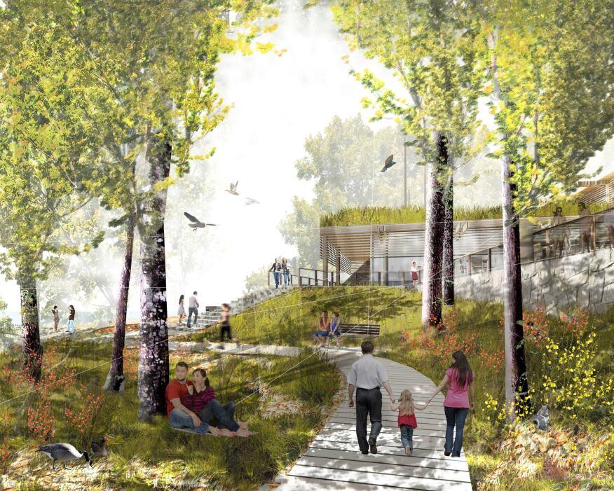 Occoquan Regional Park, Lorton, Va., by Hord Coplan Macht