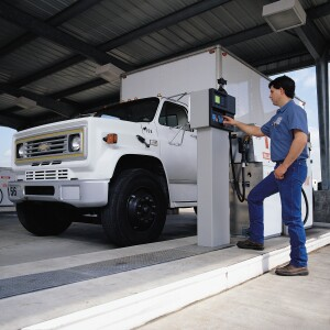 Comprised of a fuel island terminal and site controller, card lock systems like this Petro Vend C/OPT help fleet administrators monitor and manage fuel budgets by authorizing and providing accountability for usage.