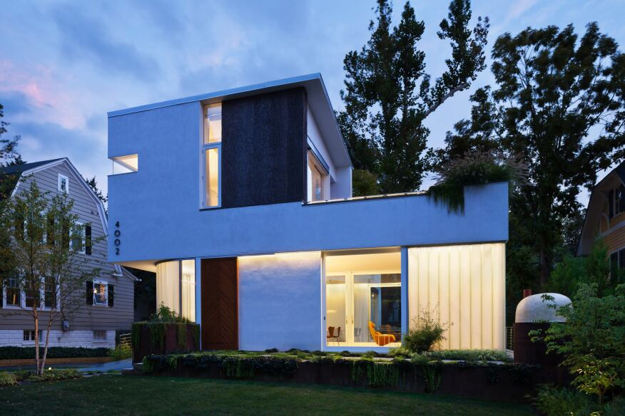 Trees on the Roof, Chevy Chase, Md., by Meditch Murphey Architects