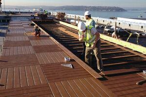 Building a Commercial Deck