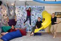 A True Play Room: Squeezing a Slide into the House