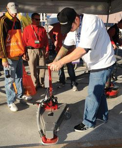 The importance of developing and following specifications for polishing concrete is gaining attention.